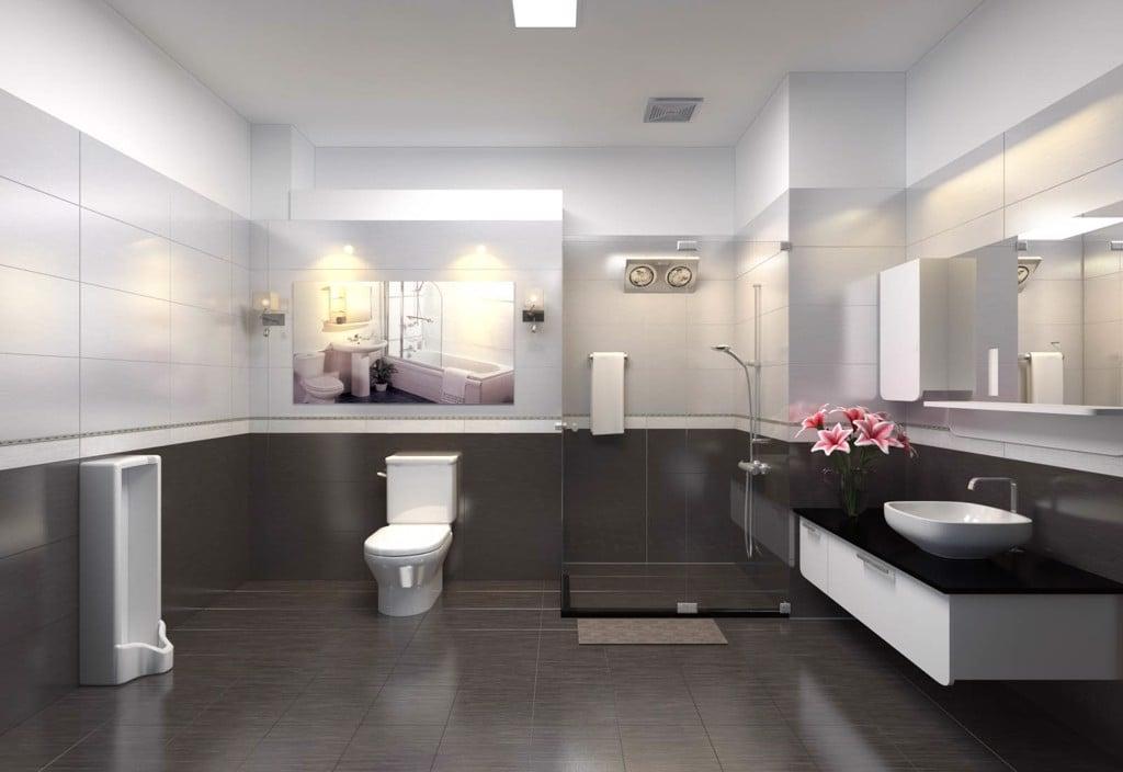 Thiết bị vệ sinh Rogesey điểm nhấn cho phòng tắm hiện đại