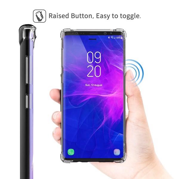 Ốp lưng trong chống sốc Samsung Note 8 Note 9 hiệu Rock 2
