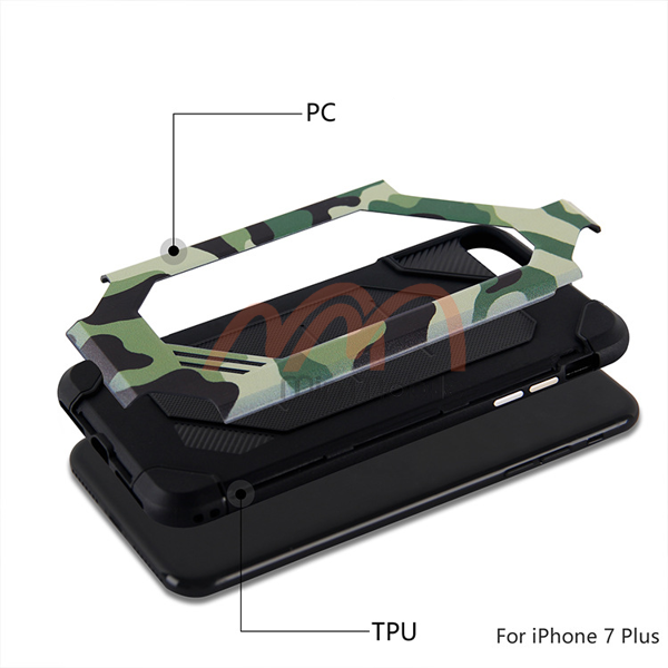 Op lung camo iPhone 7 Plus