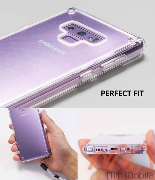 Ốp lưng chống sốc Samsung Note 9 Ringke Fusion