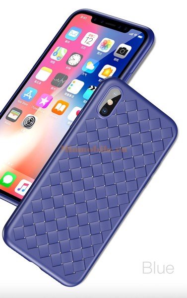 ốp lưng iPhone X Baseus Weaving case