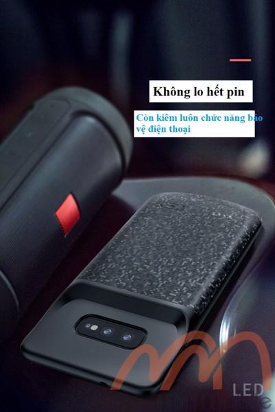 Ốp lưng kiêm sạc dự phòng Samsung S10 Plus