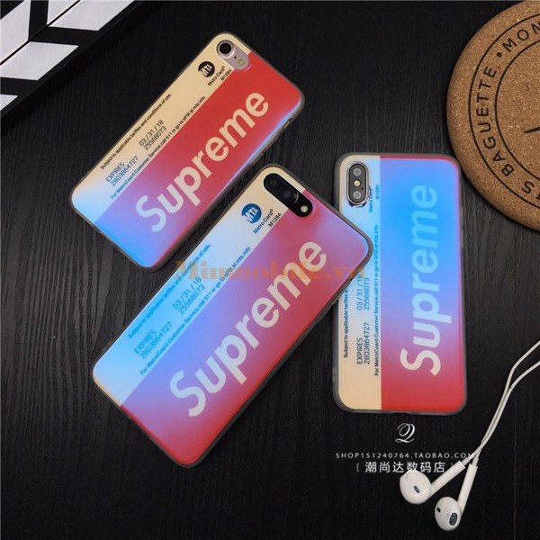 Ốp lưng iphone X Supreme