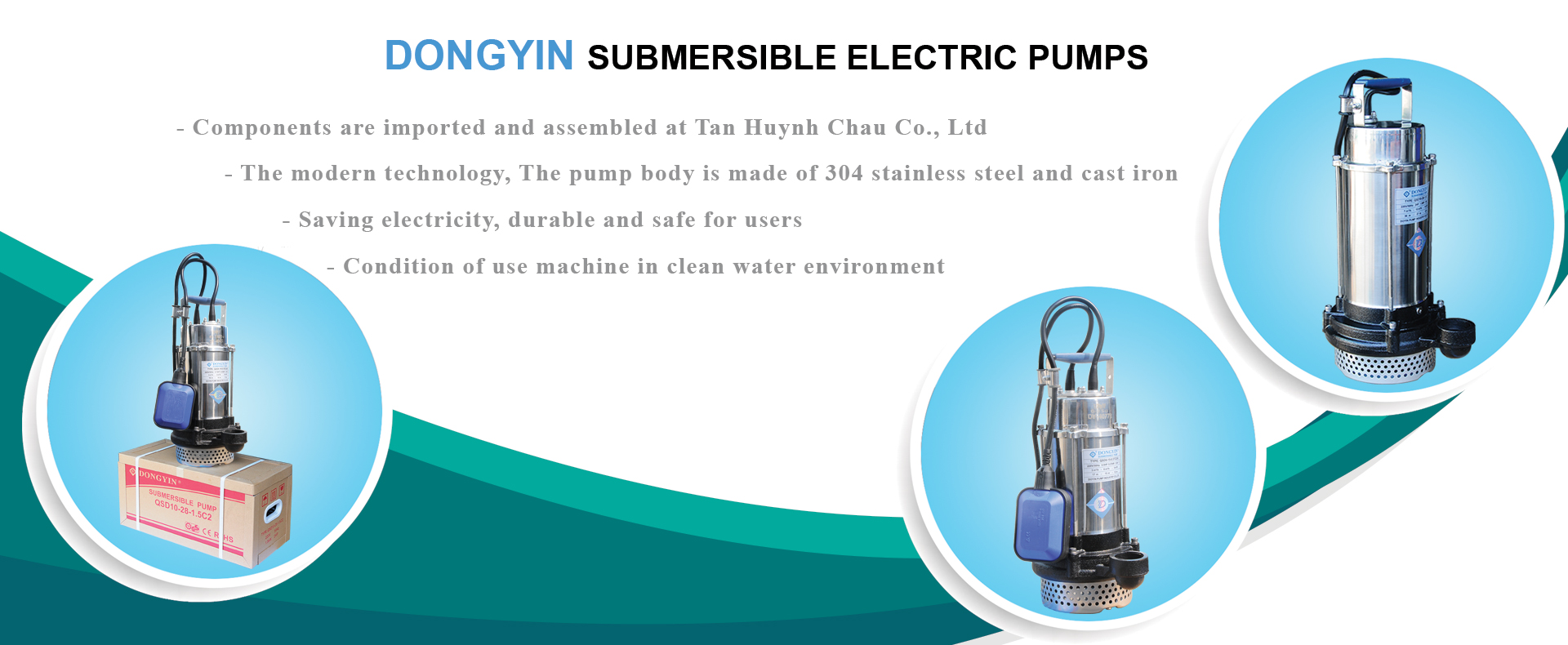 Dongyin submersible electric pumps