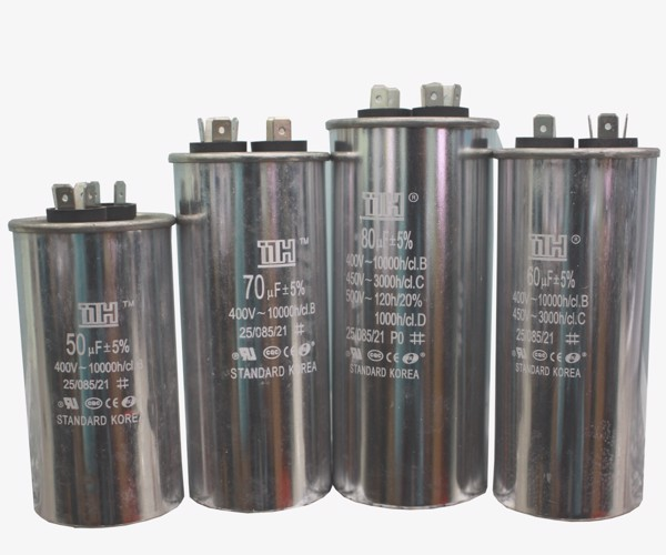 Types of run capacitors (Capa)