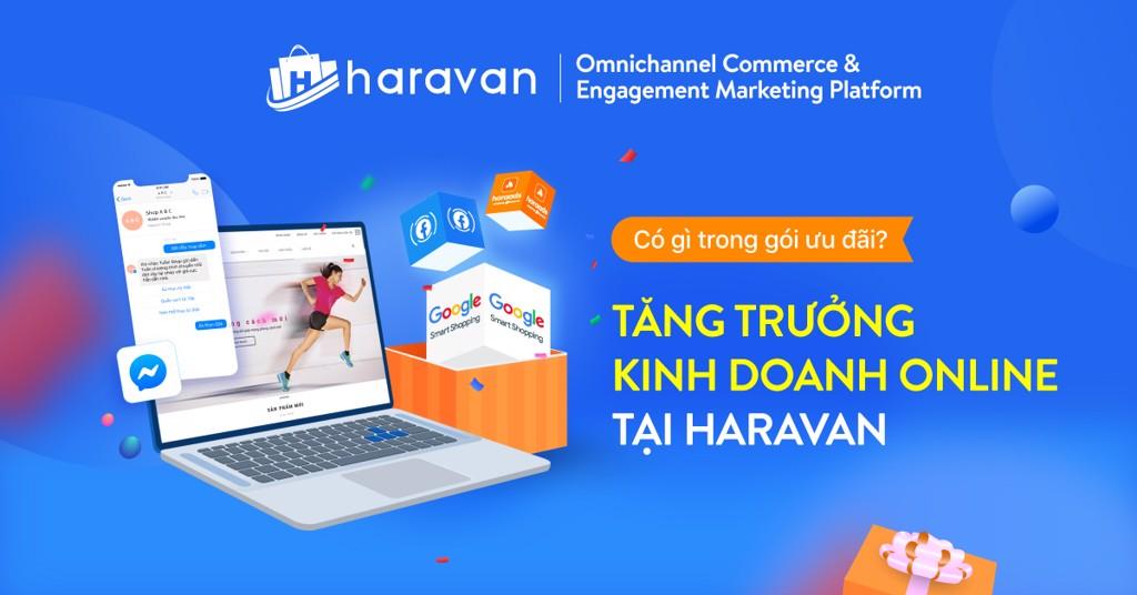 Có gì trong gói combo Tăng trưởng kinh doanh Online tại Haravan?