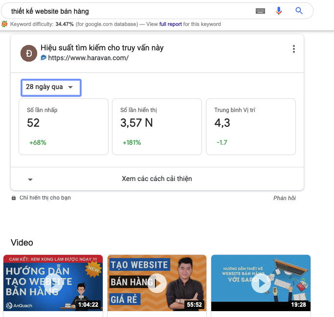 Google Search with Google Search Console