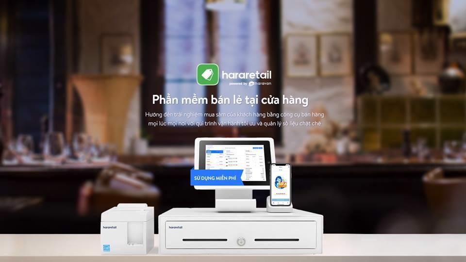 Phần mềm quản lý bán hàng miễn phí HaraRetail