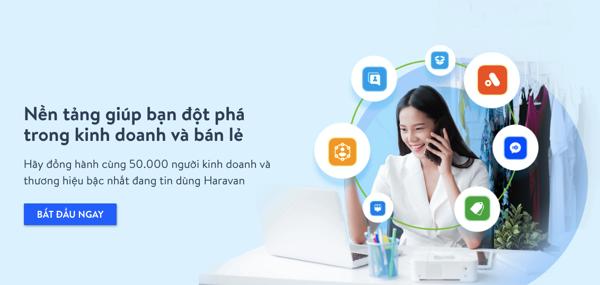 Nền tảng quản lý bán hàng đa kênh Haravan