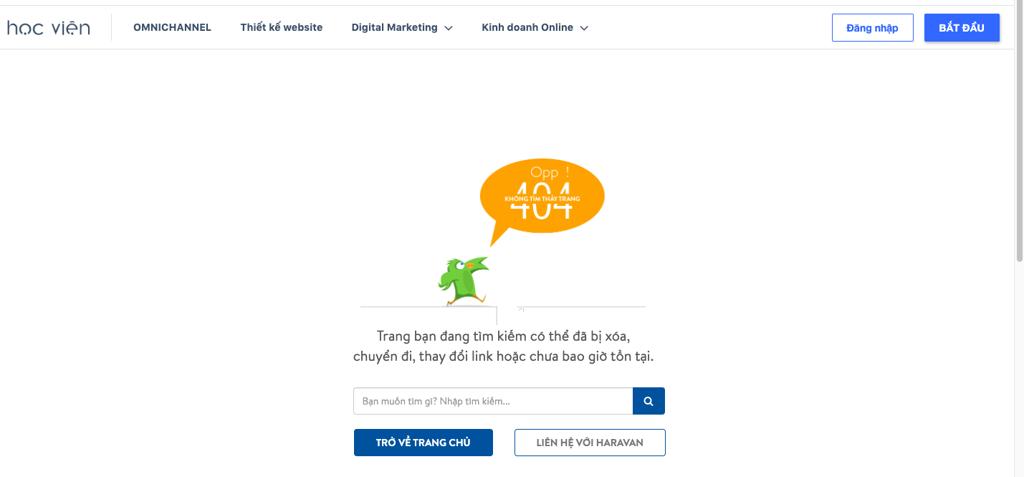 404 hữu ích với người dùng