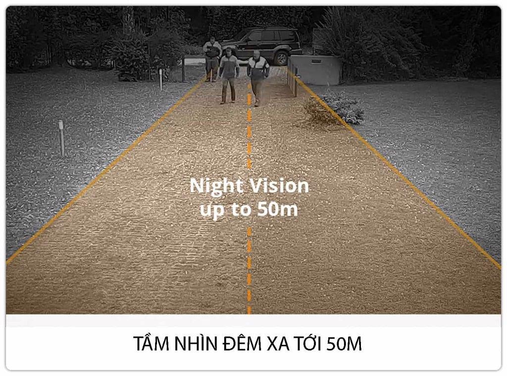 Camera Foscam Ngoài Trời SD2 Full HD Phát hiện con người thông minhh