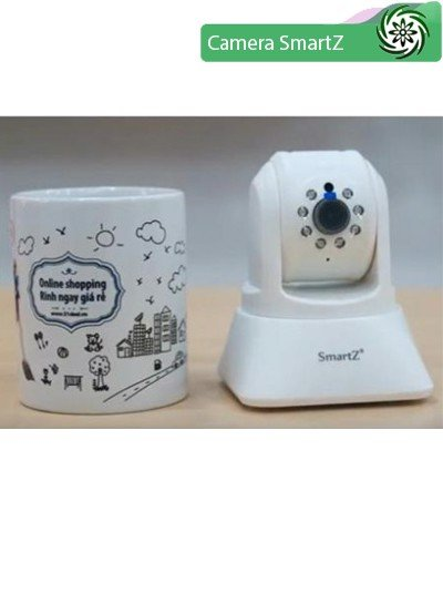Review Camera IP SmartZ SCX1001 Xoay 360 Độ