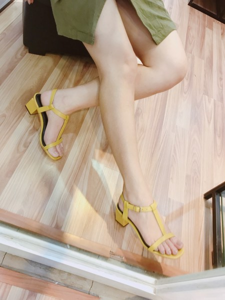 Sandal cao gót - HADU