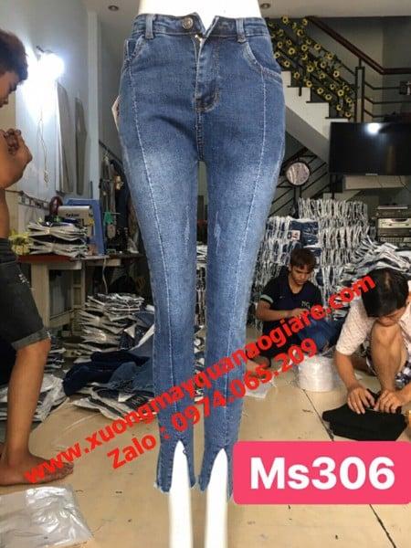 Sỉ quần jean nữ tại Đồng Tháp