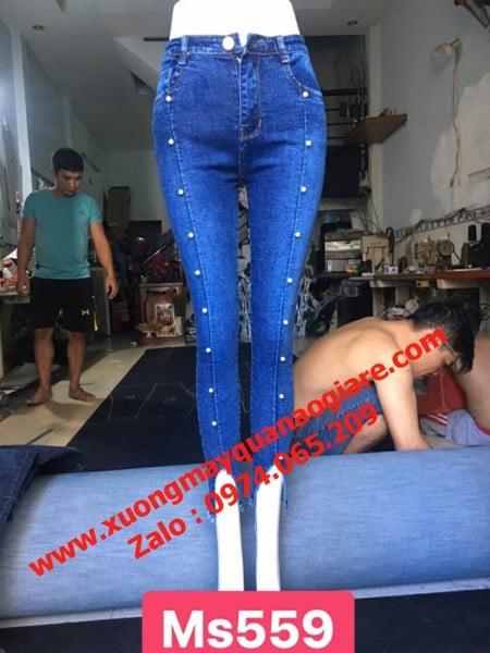 Sỉ quần jean nữ tại Đà Nẵng