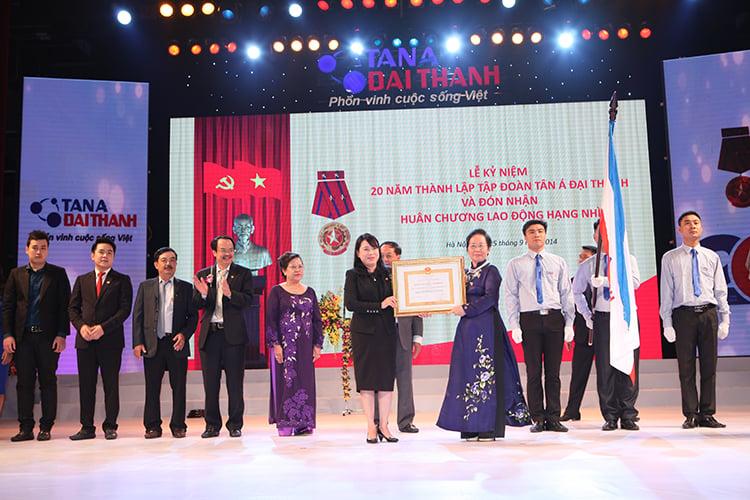 Kênh cung ứng sản phẩm chính hãng Tân Á Đại Thành