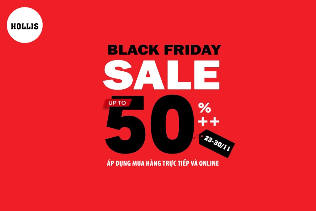 [BLACK FRIDAY] SALE