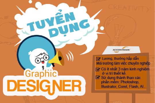 TUYỂN DỤNG GRAPPHIC DESIGNER
