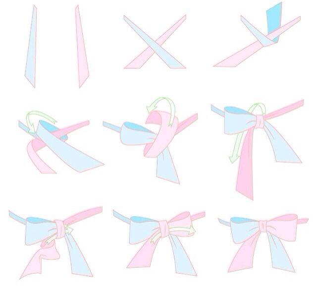 cách thắt nơ áo