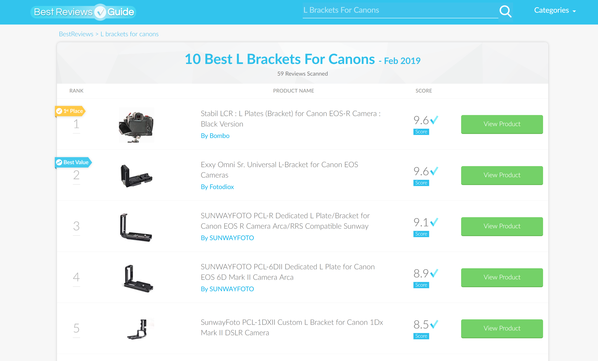 Stabil LCR : Best of top 10 best L Plates (Bracket) for Canon EOS-R
