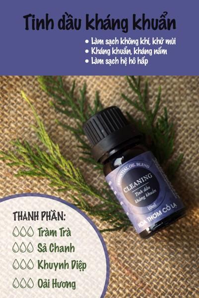 Tinh Dầu Khử Khuẩn - Aroma Cleaning