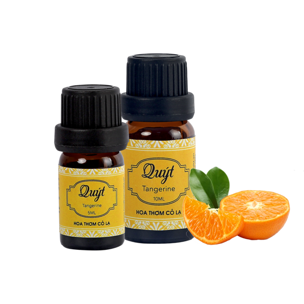 Tinh Dầu Quýt - Tangerine Essential Oil