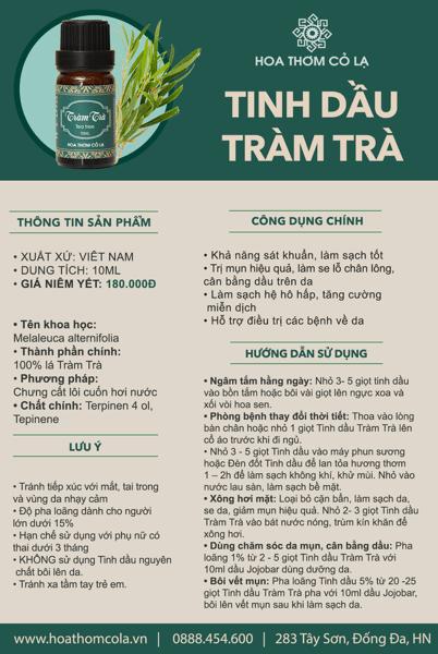 Tràm Trà - Tea Tree
