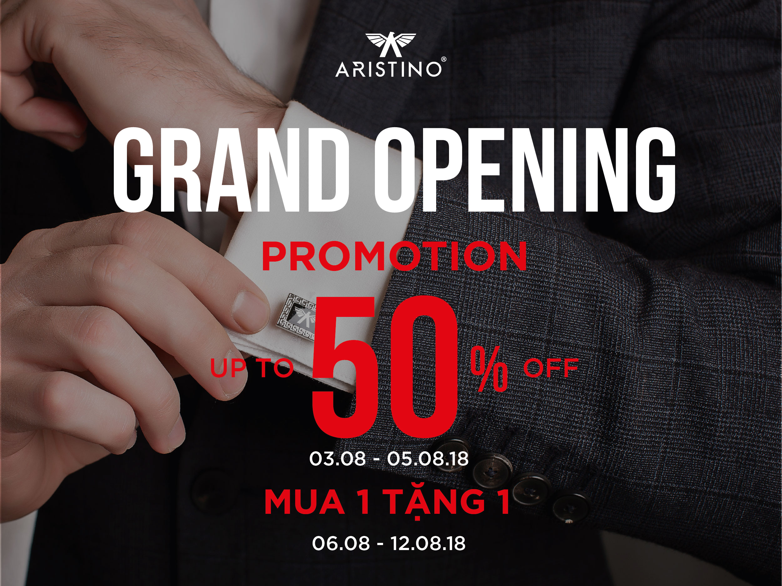 [GRAND OPENING] – ARISTINO OFFICIALLY ARRIVES DANANG