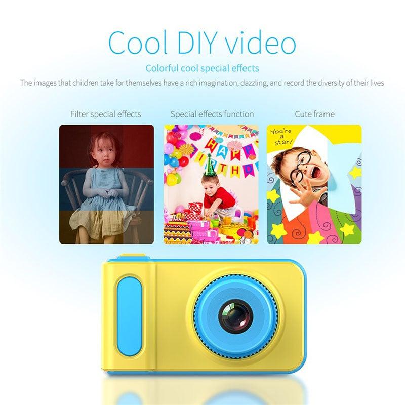 Máy chụp hình mini Kỹ thuật số cho bé Promax Baby Cute Cartoon Gifts