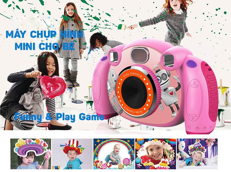 Máy chụp hình mini kỹ thuật số cho bé Promax H131 (Tích hợp ống ngắm, trò chơi, camera FullHD)