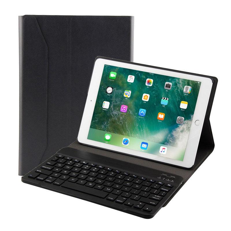 Bàn phím bluetooth iPad Mini 4/ mini 5 có đèn LED Aturos 1029 (Màu đen)