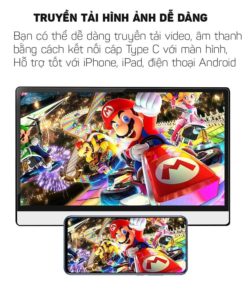 Màn hình di động tích hợp cảm ứng mở rộng hiển thị hình ảnh, video 13.3 inches Aturos P13A