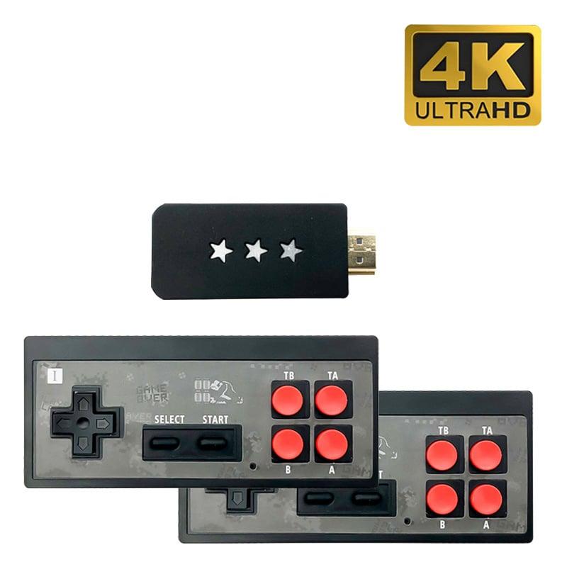 Máy chơi game 4 nút HDMI di động mini dùng cho TV và Laptop Promax EMX041 với 621 game tích hợp