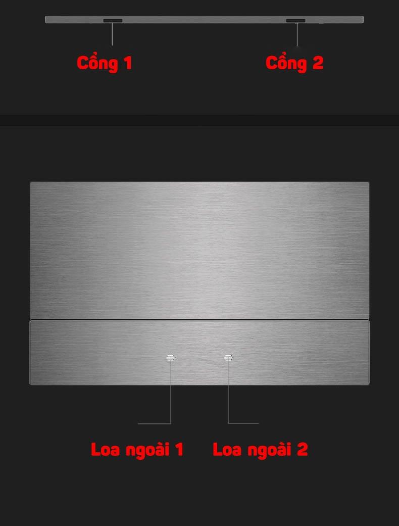 Màn hình di động truyền hình ảnh Aturos T16A cho iPhone, iPad, laptop, PS4, Nintendo Switch mở rộng HDMI 15.6 inch