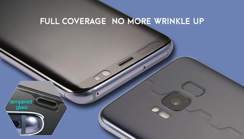 Cường lực dẻo nano miếng dán màn hình PPF cho iPhone 11 Lensun 360, tự phục hồi