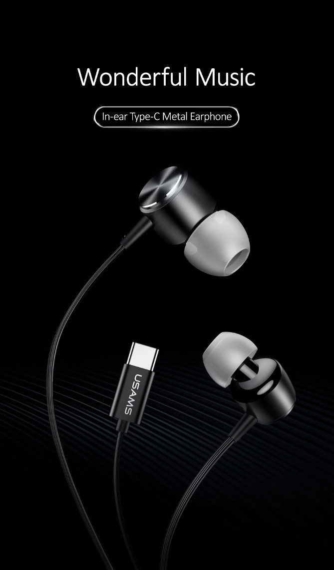 Tai nghe Earphone US-SJ291 EP-31 Inear Type-C