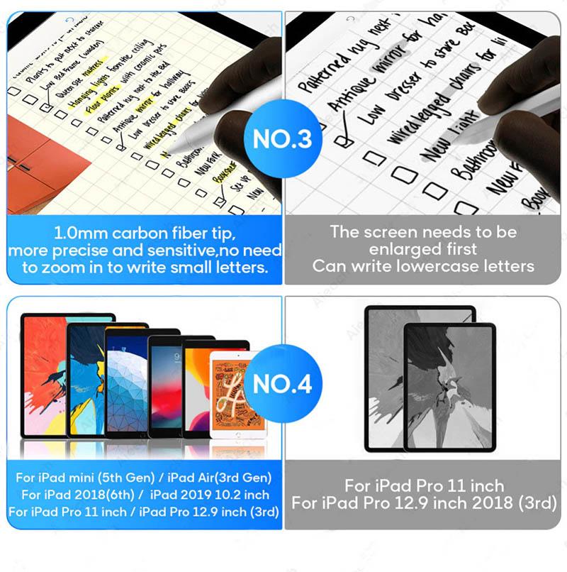 Bút cảm ứng stylus cho iPad Aturos IQS dùng như Apple Pencil