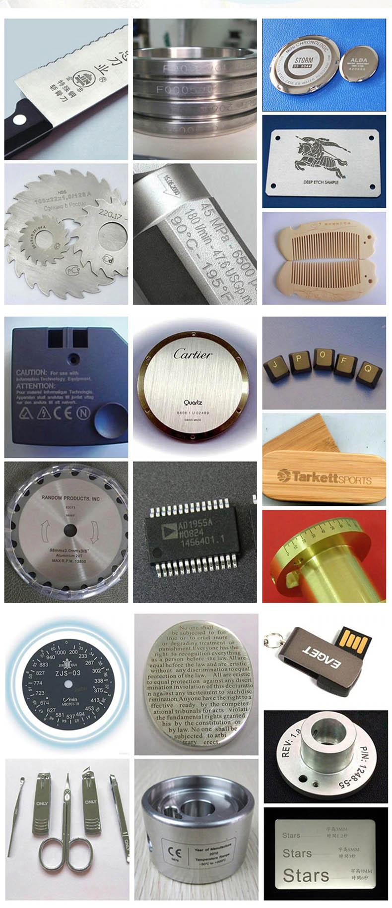 Máy in khắc laser khắc logo, khắc hình ảnh, mã vạch trên gỗ, kim loại Promax RAYCUS