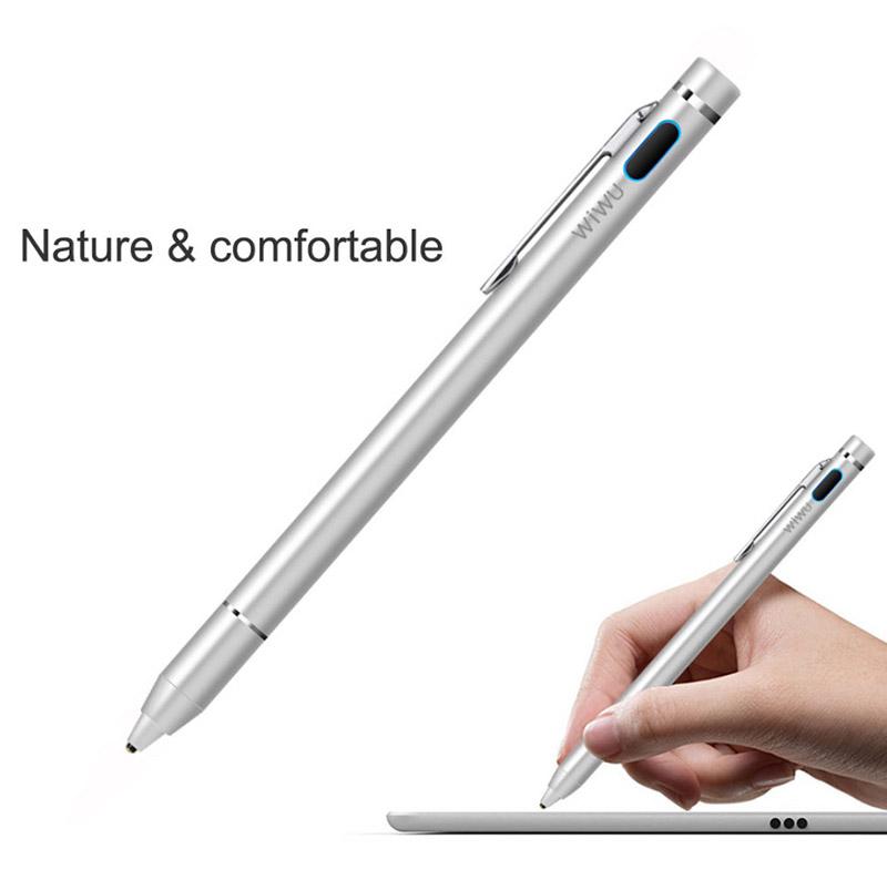 Bút cảm ứng stylus đầu nhỏ WiWU Picasso active stylus P338 cho iPhone, iPad, thiết bị màn hình cảm ứng Android