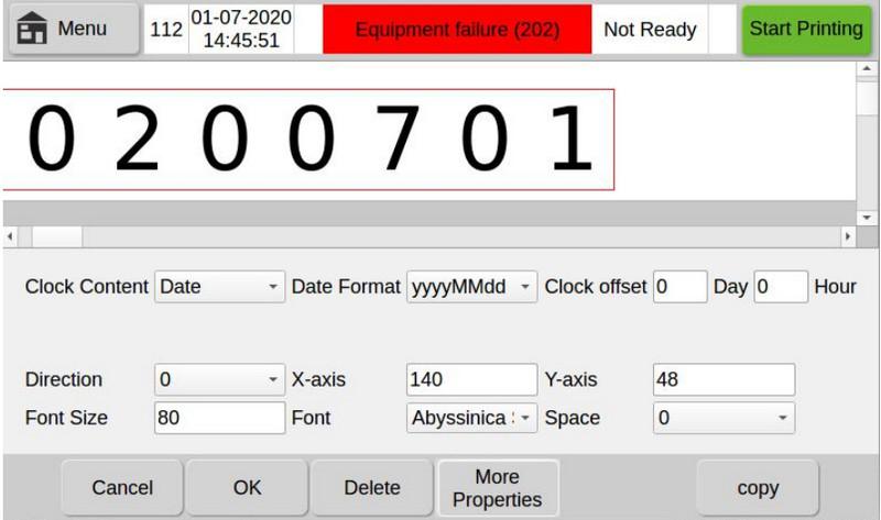Cách sử dụng máy in date N5