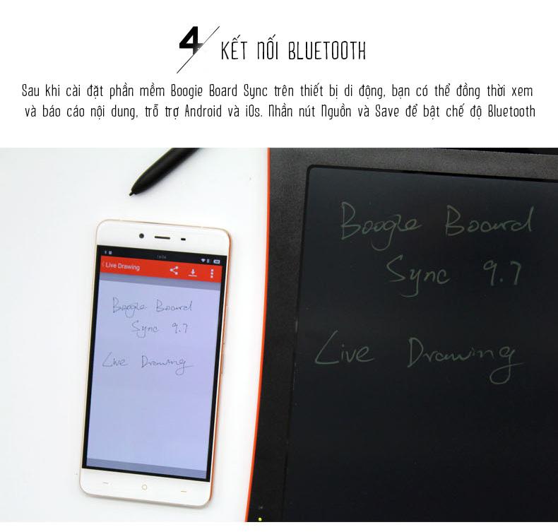 Giấy điện tử Boogie Board Sync 9.7 inch LD eWriter giá rẻ