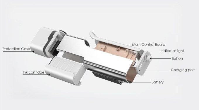 Máy in mini cầm tay trên mọi chất liệu, trên mọi bề mặt Aturos Printpen