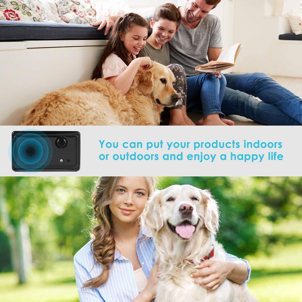 Máy chống chó sủa phát siêu âm, ngăn chó sủa trong nhà và ngoài trời Promax Anti Barking