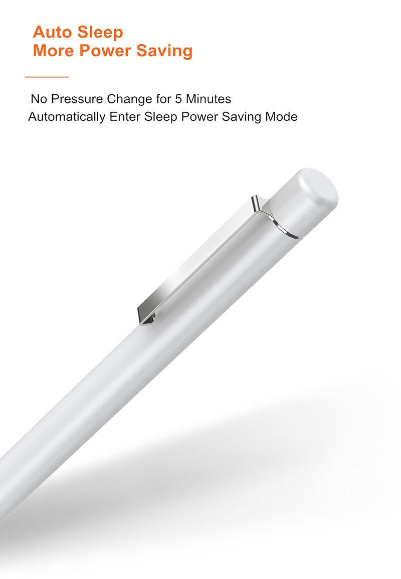 Bút cảm ứng cho Matebook E 2019, máy tính bảng Huawei M5, M6 WIWU Mate Pencil 2048 (Màu bạc)