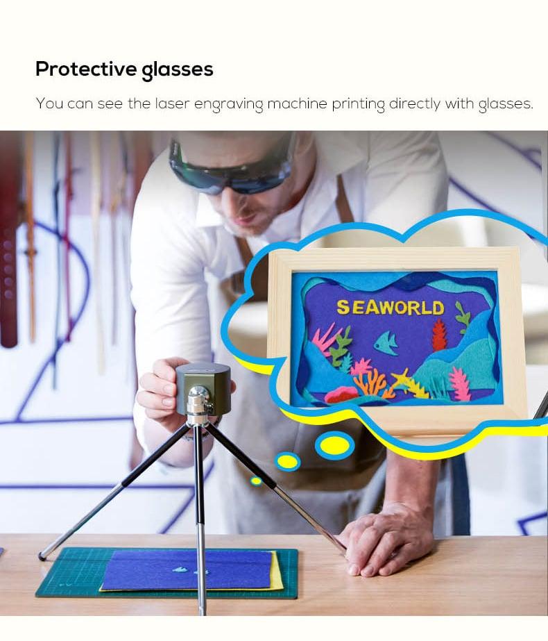 Máy khắc laser mini khắc trên mọi chất liệu Promax Mini Laser Engraver Suit