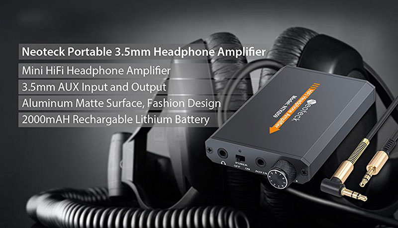 Âm li Amplifier headphone Neoteck Portable