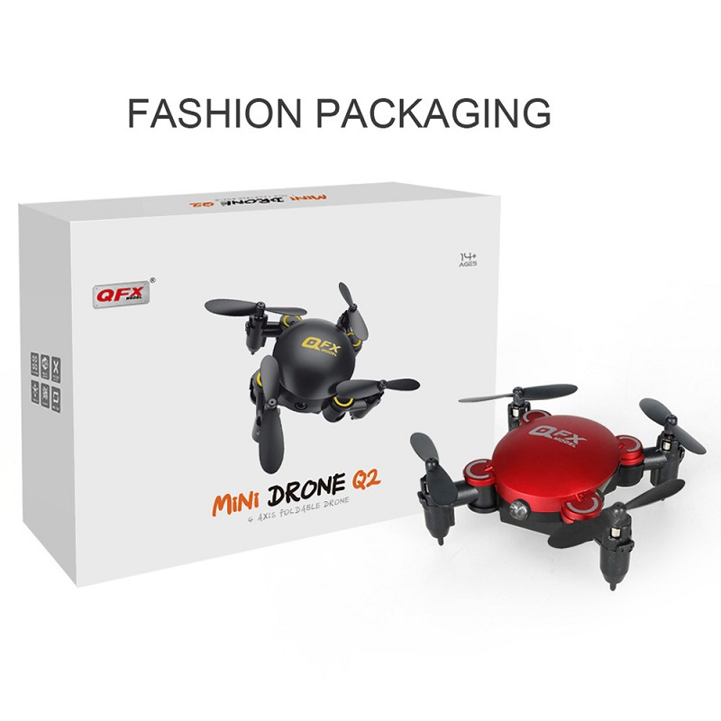 Drone Mini Flycam Q2 4 trục 2.4GH 0.3Mp Camera HD 3D