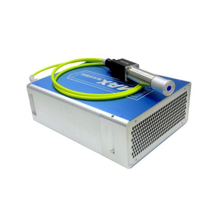 Bộ Nguồn laser Fiber MAX 20W - New 100%, nguồn mạnh mẽ chất lượng Quý khách đang cần mua một bộ nguồn laser thay thế cho máy khắc laser nhưng không biết thương hiệu nào đảm bảo chất lượng, giá cả phải chăng và có đủ sức mạnh để vận hành toàn bộ hệ thống cũng như giúp khắc laser sắc nét, đẹp và nhanh chóng. Vậy thì hãy tham khảo ngayBộ Nguồn laser Fiber MAX 20W ngay hôm nay.  Một số thông số kỹ thuật củaBộ Nguồn laser Fiber MAX 20W:  - Nguồn: MAX 20W  - Bước sóng: 1064nm  - Chất lượng chùm:1.3  - Phạm vi nguồn:10~100%  - Năng lượng khối đơn:0.67mj  - Độ rộng xung quanh quang học (FWHM):100ns  -Tần số lặp lại xung (PRF):30~60KHz  - Chiều dài cáp:2.5m  - Nhiệt độ làm việc:15-35℃  - Nguồn cung cấp:24VDC  - Kích thước:345.5*266.2*120mm  -
