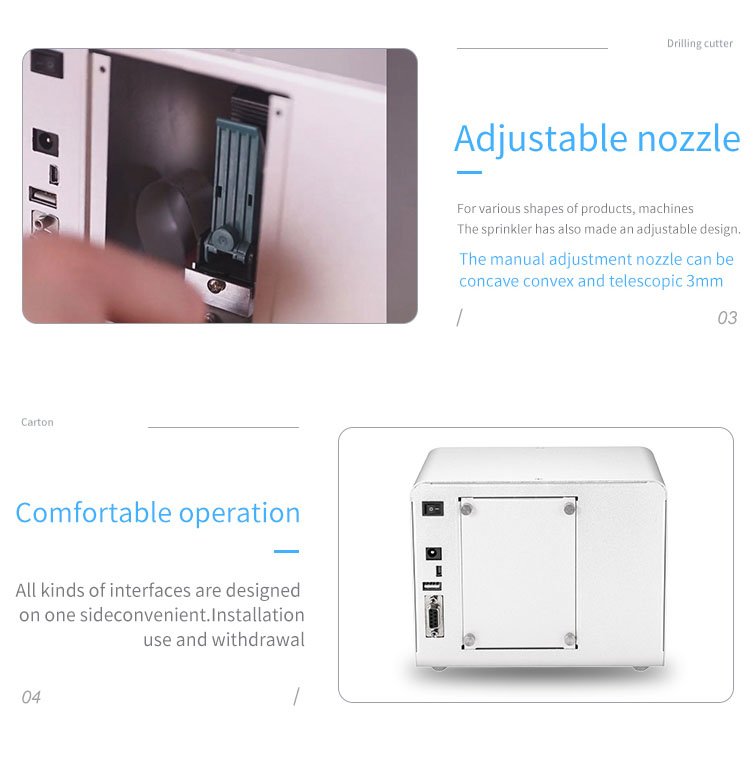 Máy in date cầm tay mini Promax Somrt X1