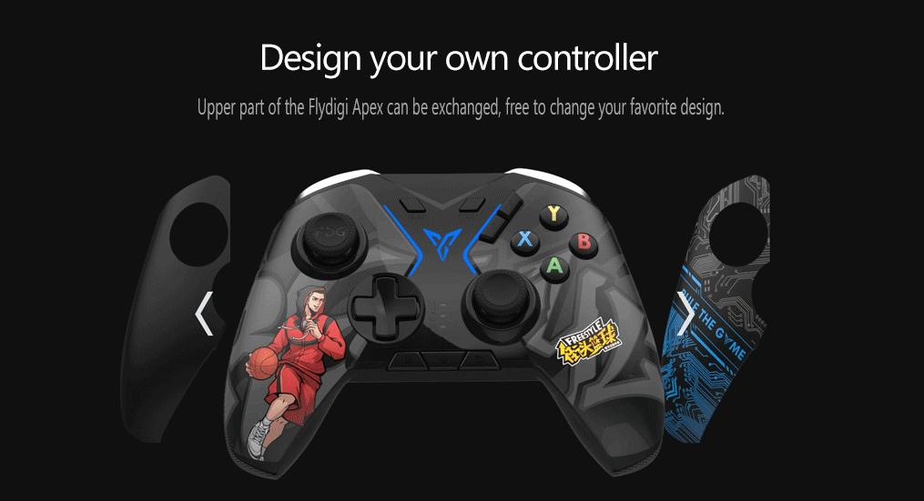 Tay cầm chơi game không dây Flydigi Apex Octopus STEAM